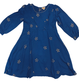 Almirah Almirah Indigo Dress with Stars