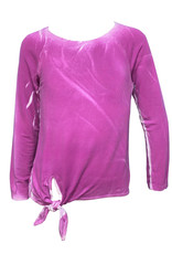ERGE Long Sleeve Spray Wash Top, Magenta