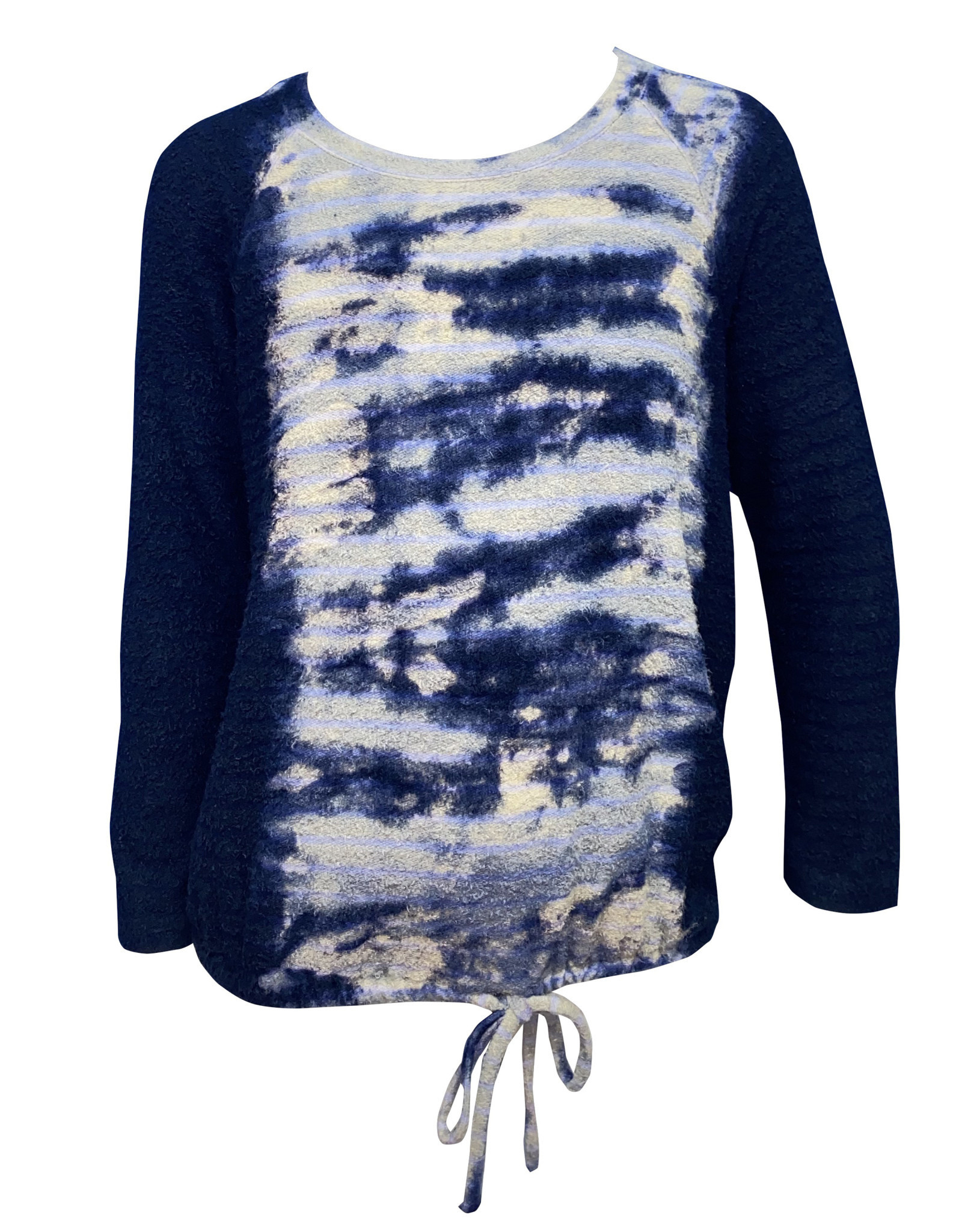 ERGE Long Sleeve Tie Dye Top, Bubbles