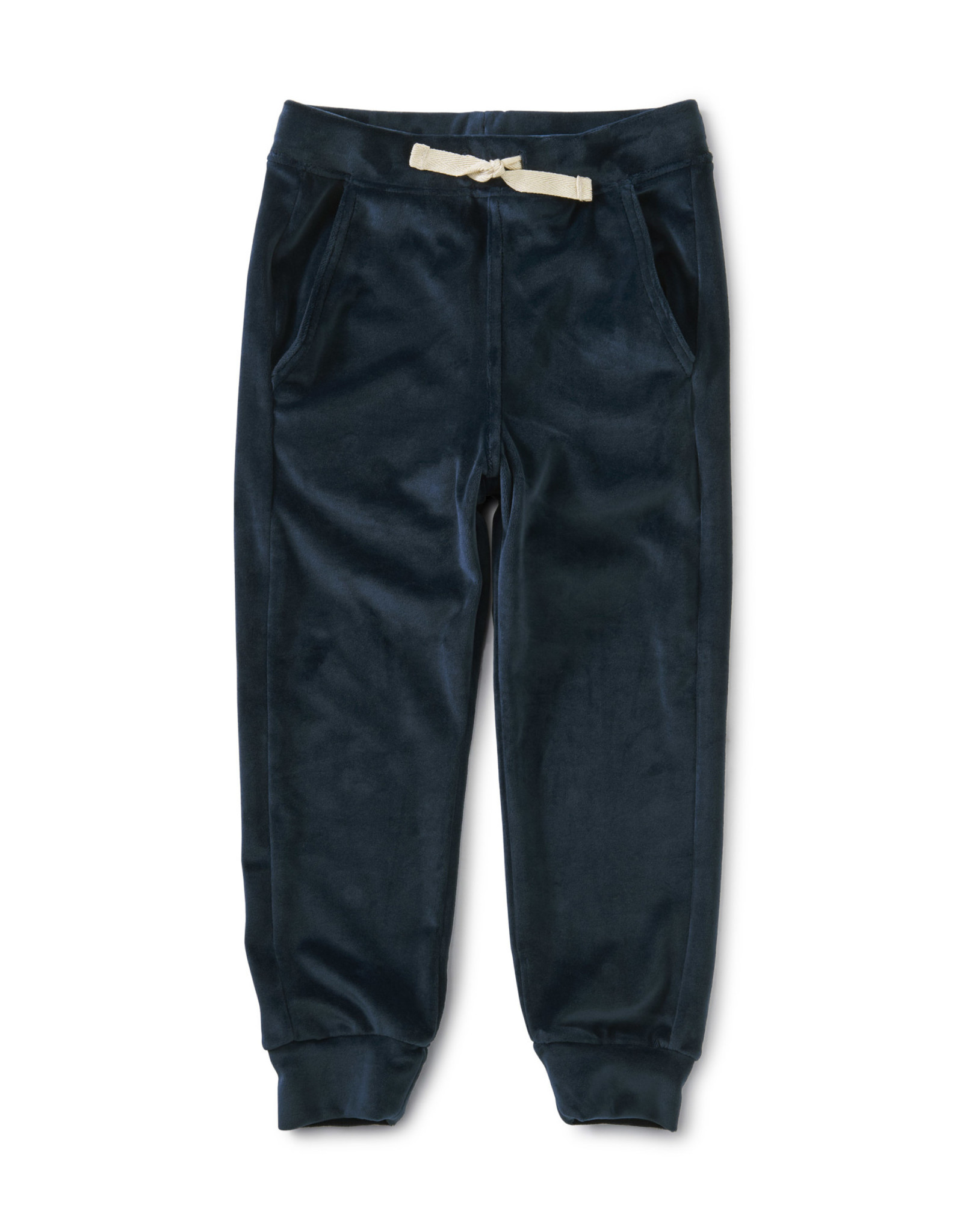 Tea Velour Joggers,  Whale Blue