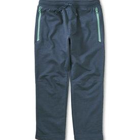 Tea Zip Pocket Joggers,  Caspen Blue