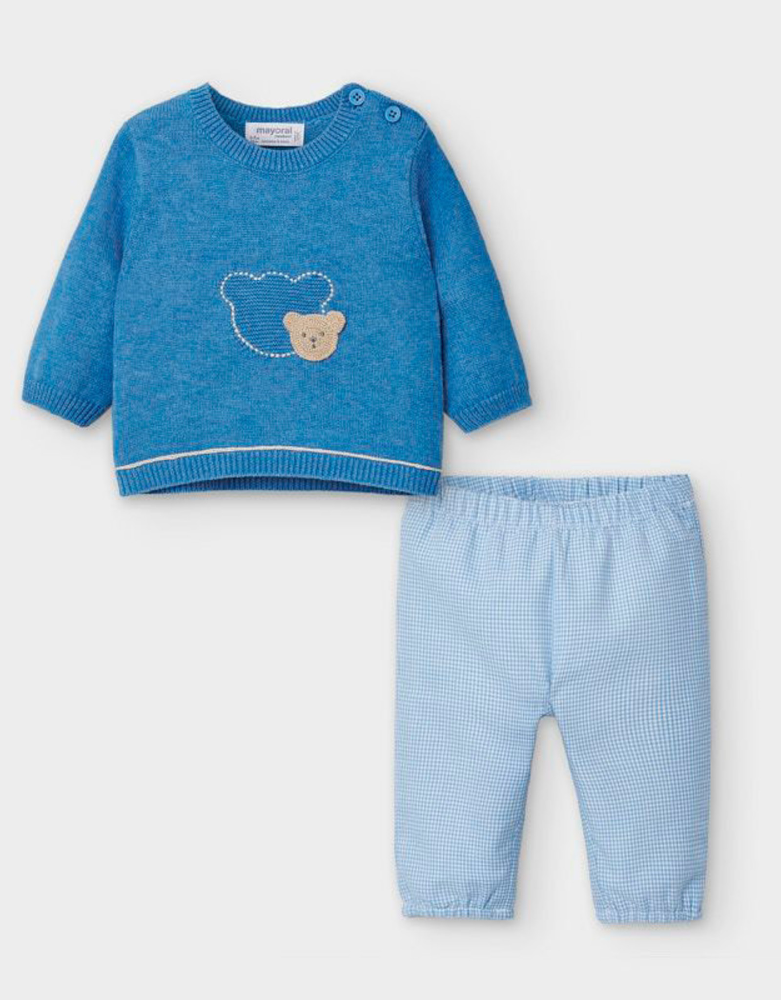 Mayoral Sweater & Pants Set - Blue