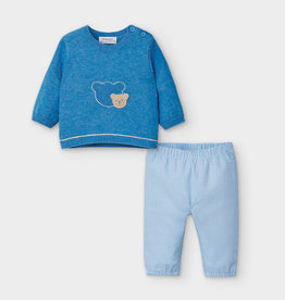 Mayoral Sweater & Pants Set - Blue