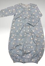 Kissy Kissy Converter Gown - Blue Sheep