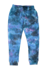 Candy Pink Galaxy Tie Dye Jogger