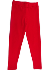 Lemon Loves Lime Basic Legging - True Red