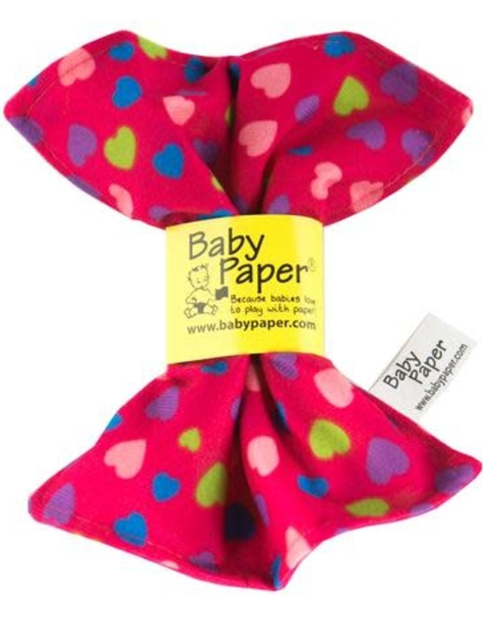 Baby Paper pink hearts