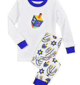 Sara's Prints Hanukkah Pajamas, Dreidl
