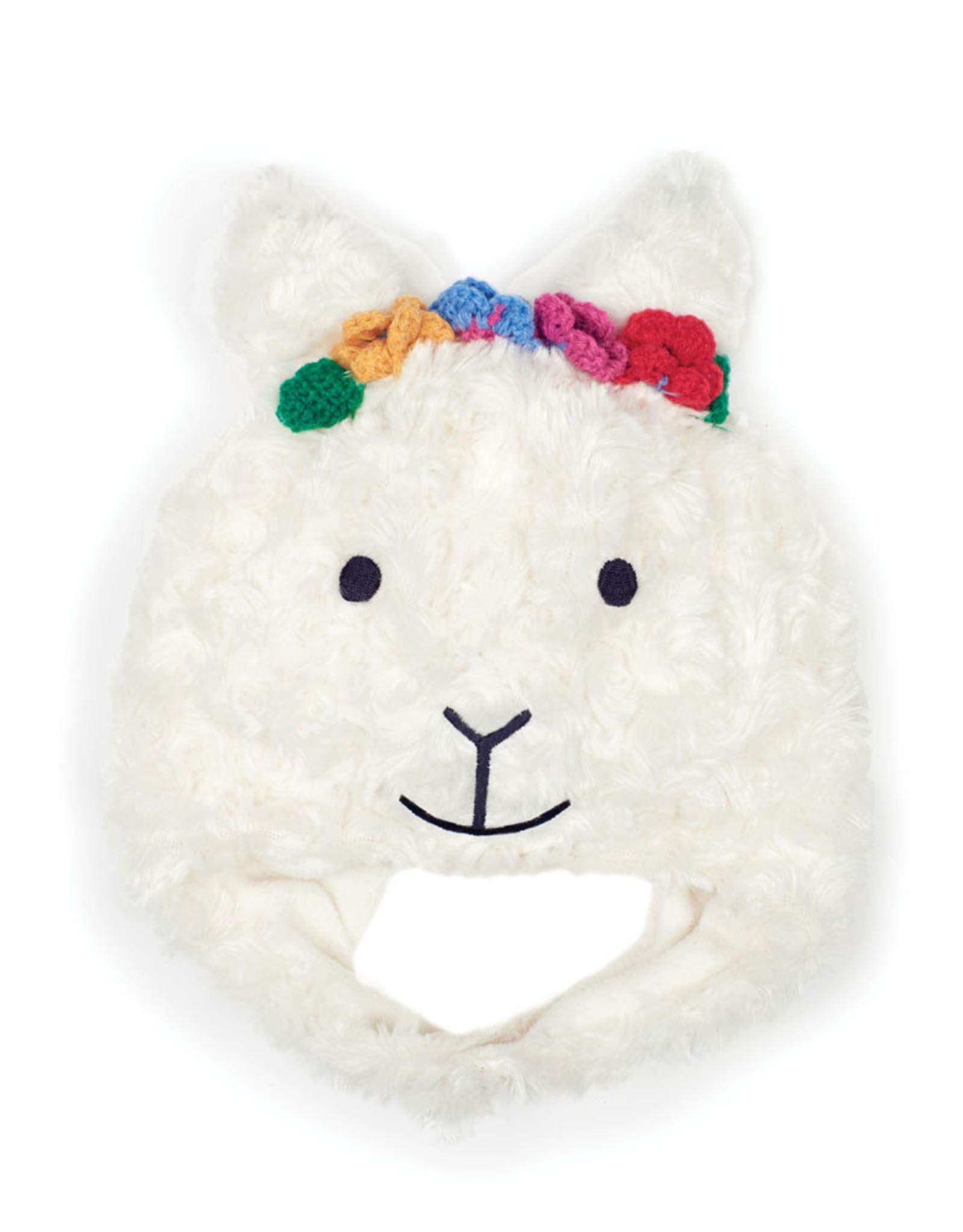 Jojo Llama Hat, Cream