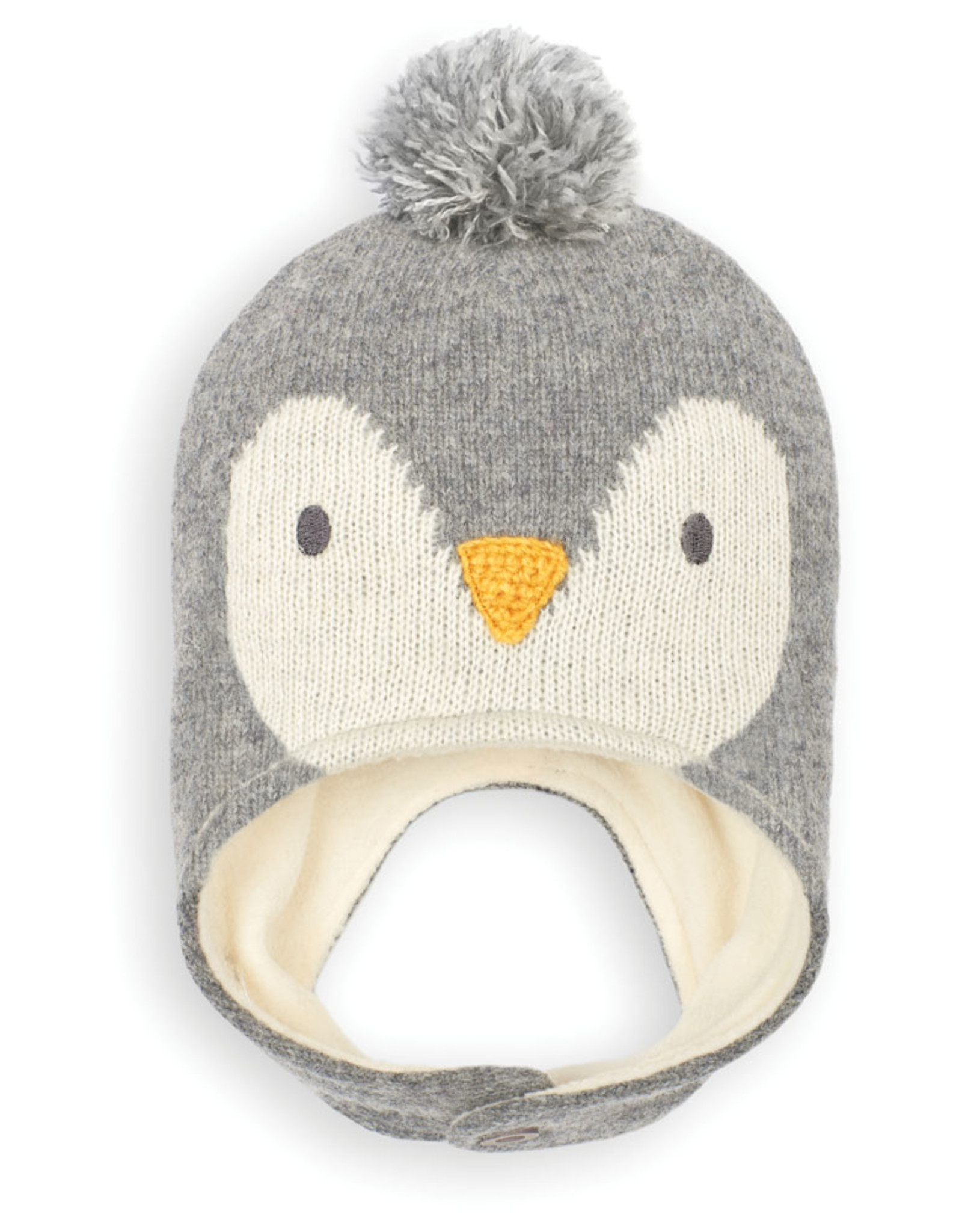 Jojo Penguin Hat, Marl Gray