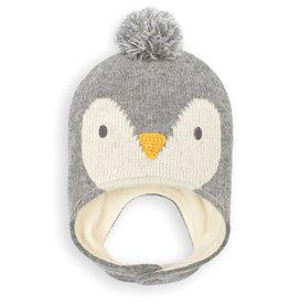 Jojo Penguin Hat, Marl Gray