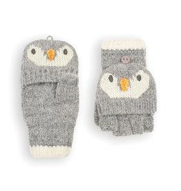 Jojo Penguin Gloves, Marl Gray