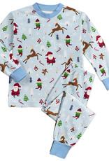Sara's Prints Vintage Christmas Pajamas