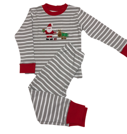 Squiggles Santa Loungewear, 2 pc