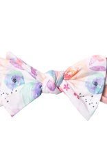 Copper Pearl Knit Headband Bow Bloom