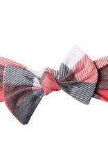 Copper Pearl Knit Headband Bow Jack
