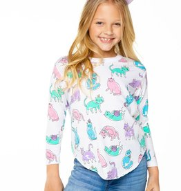Chaser Girls Kitty Party Tee