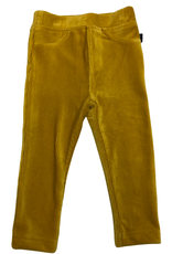 Jojo Maman Bebe Jersey Cord Jeggings, Mustard