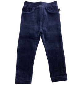 Jojo Maman Bebe Jersey Cord Jeggings, Light Navy
