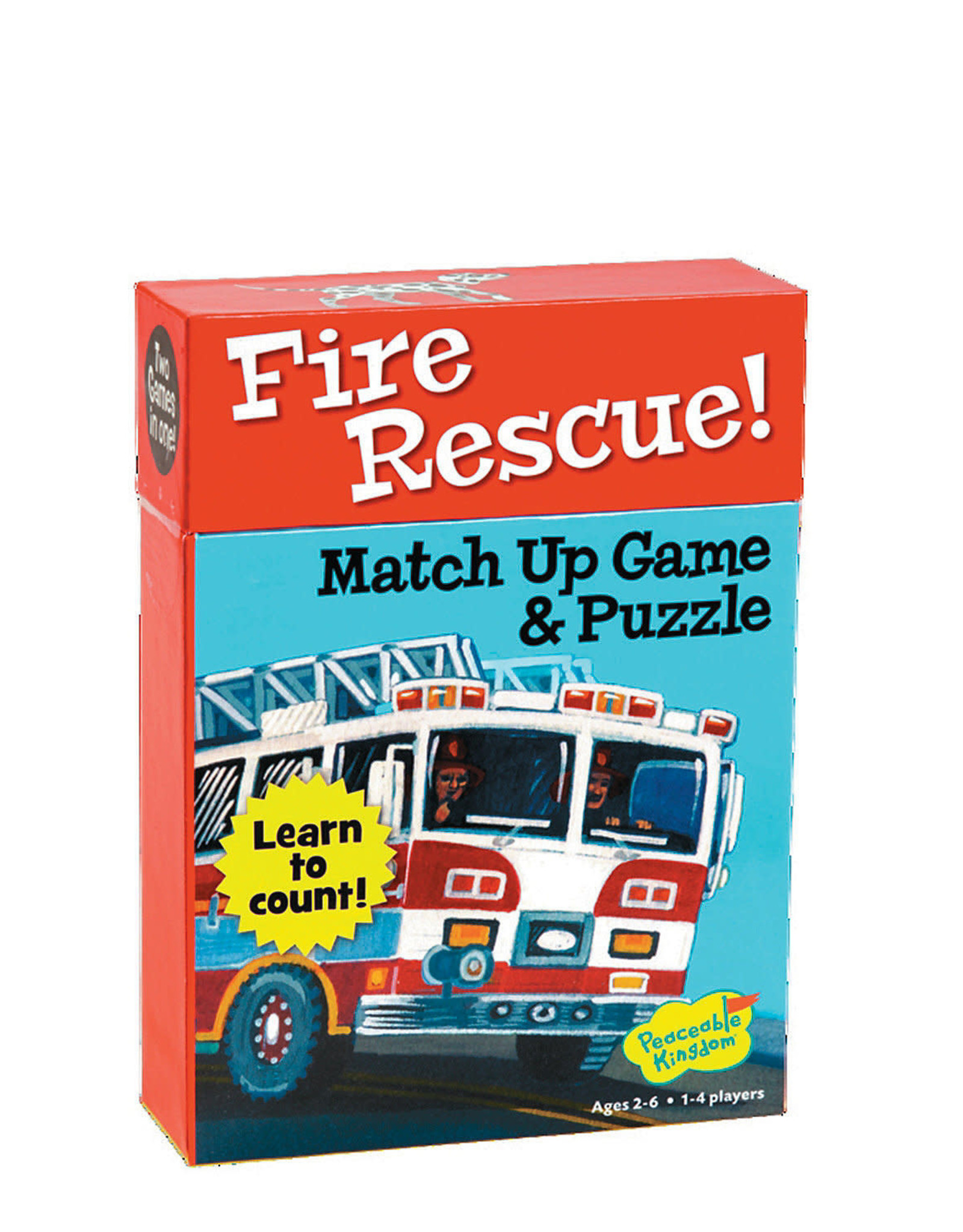 Peaceable Kingdom Fire Rescue Match Up Game