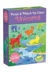 Peaceable Kingdom Match Ups Puzzle Game: Unicorn