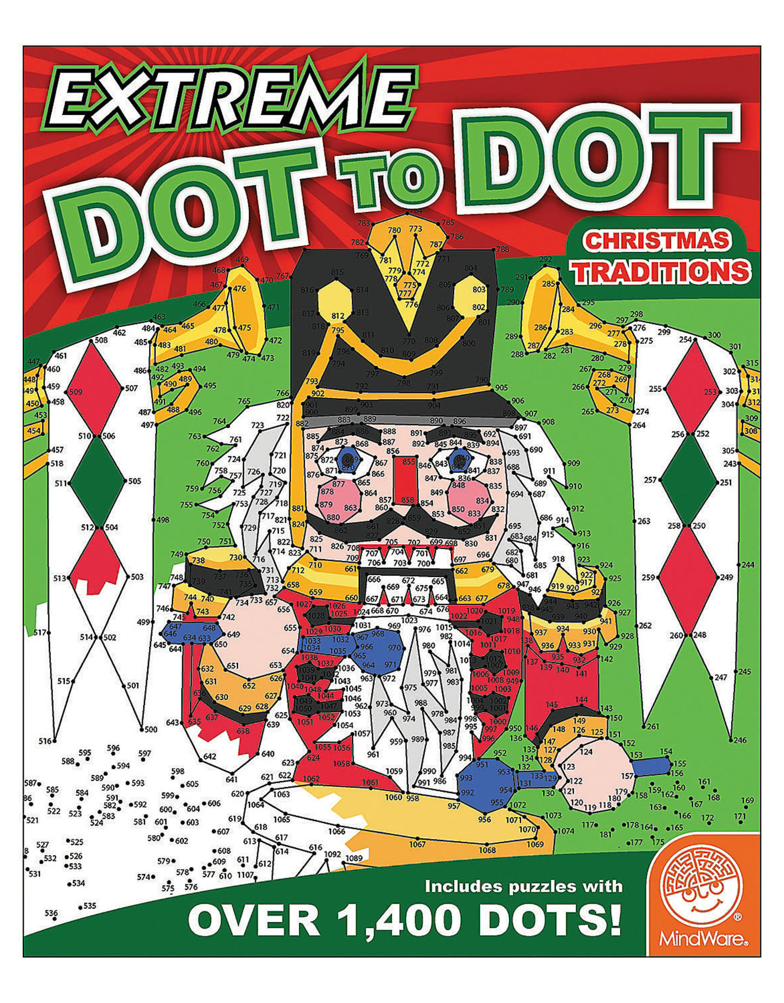 Mindware Extreme Dot to Dot, Christmas Traditions