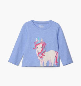Hatley Magical Unicorn LS Baby Tee