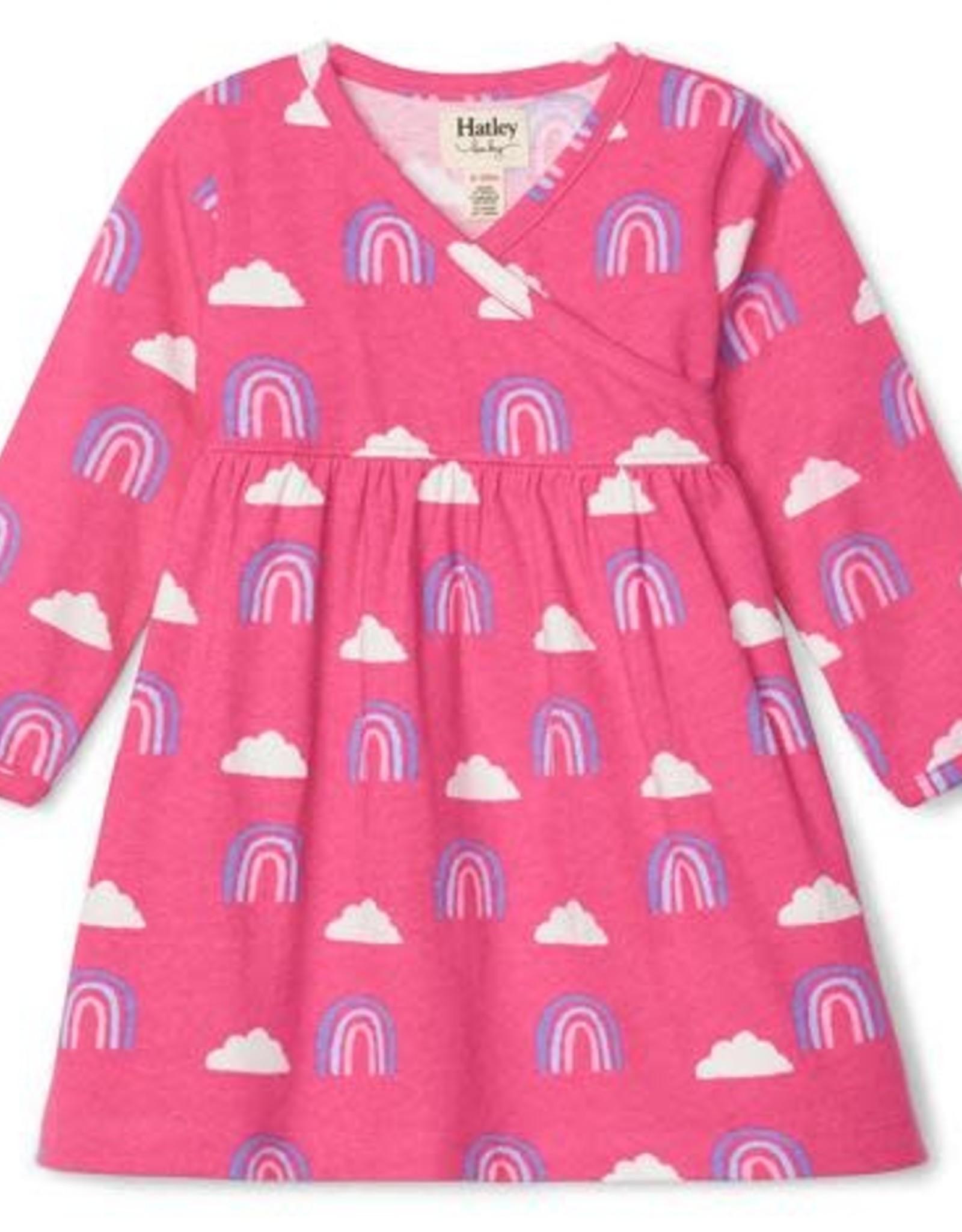 Hatley Happy Rainbows Baby Crossover Dress