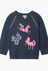 Hatley Patterned Unicorns Pullover