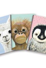 Studio Oh! Notebook Trio, Baby Animals