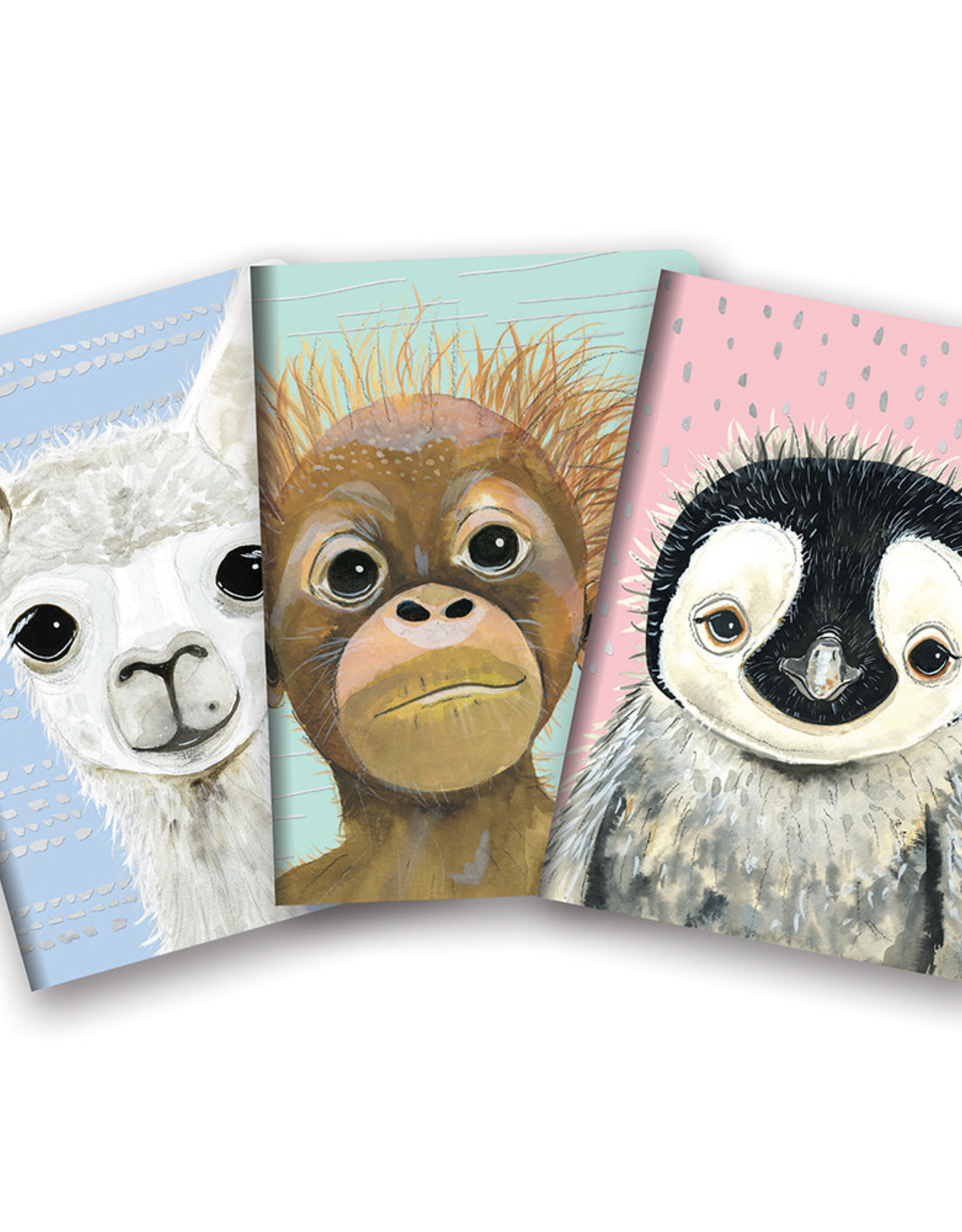 Studio Oh! Studio Oh! Notebook Trio, Baby Animals