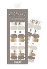 Studio Oh! Nail Wrap Kit, Hedgehogs