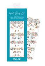 Studio Oh! Studio Oh! Nail Wrap Kit, Floral Moths