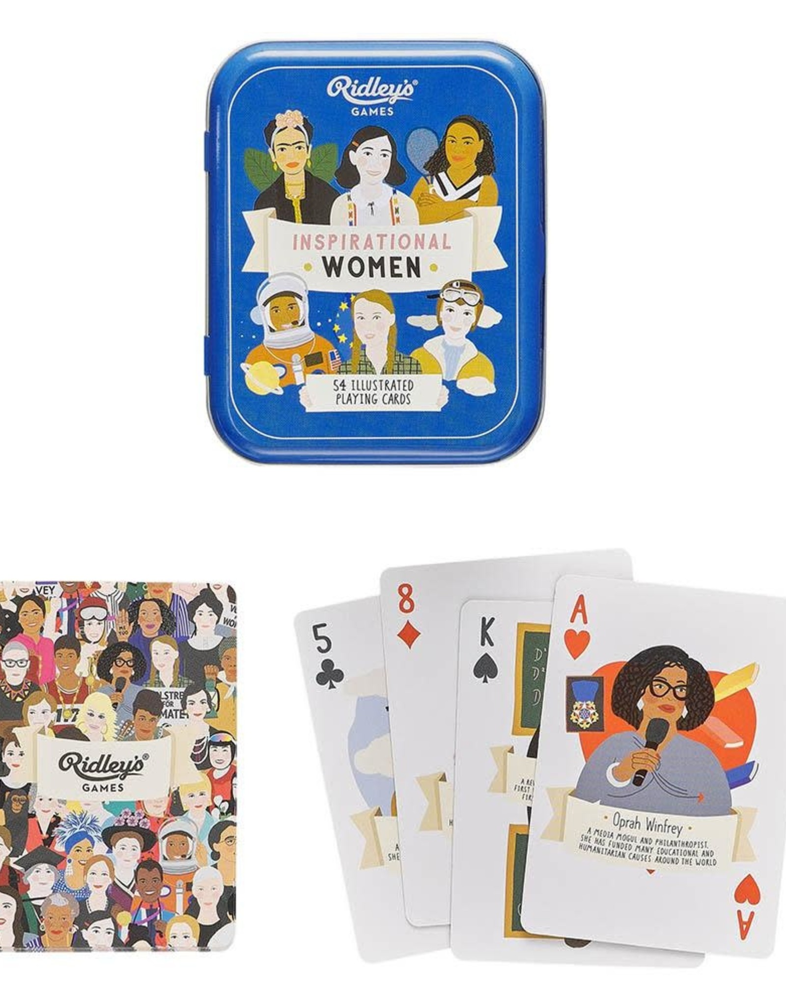 Wild & Wolf Ridley's Inspirational Women Playing Cards