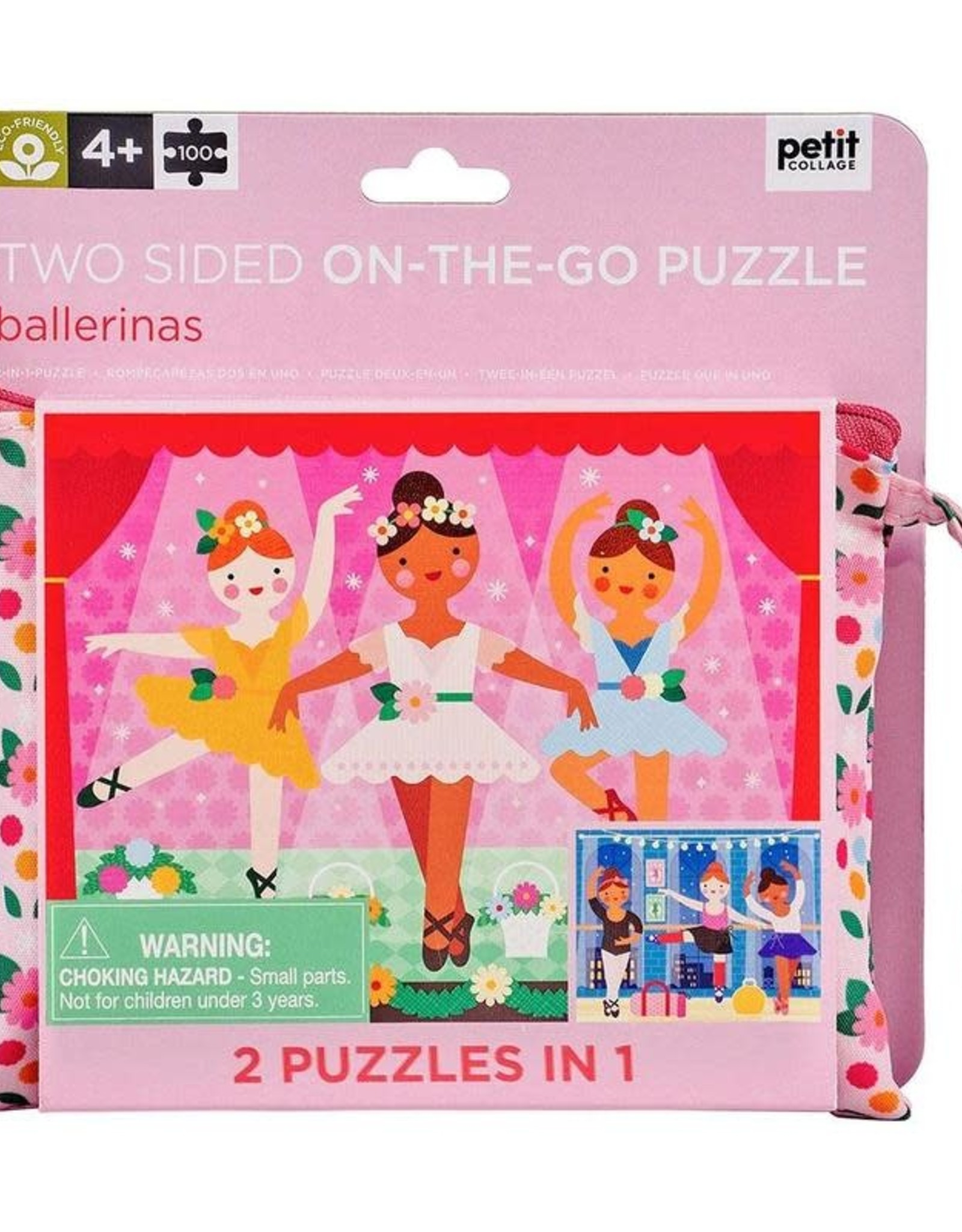 Wild & Wolf Petit Collage Double Sided Ballerina Puzzle