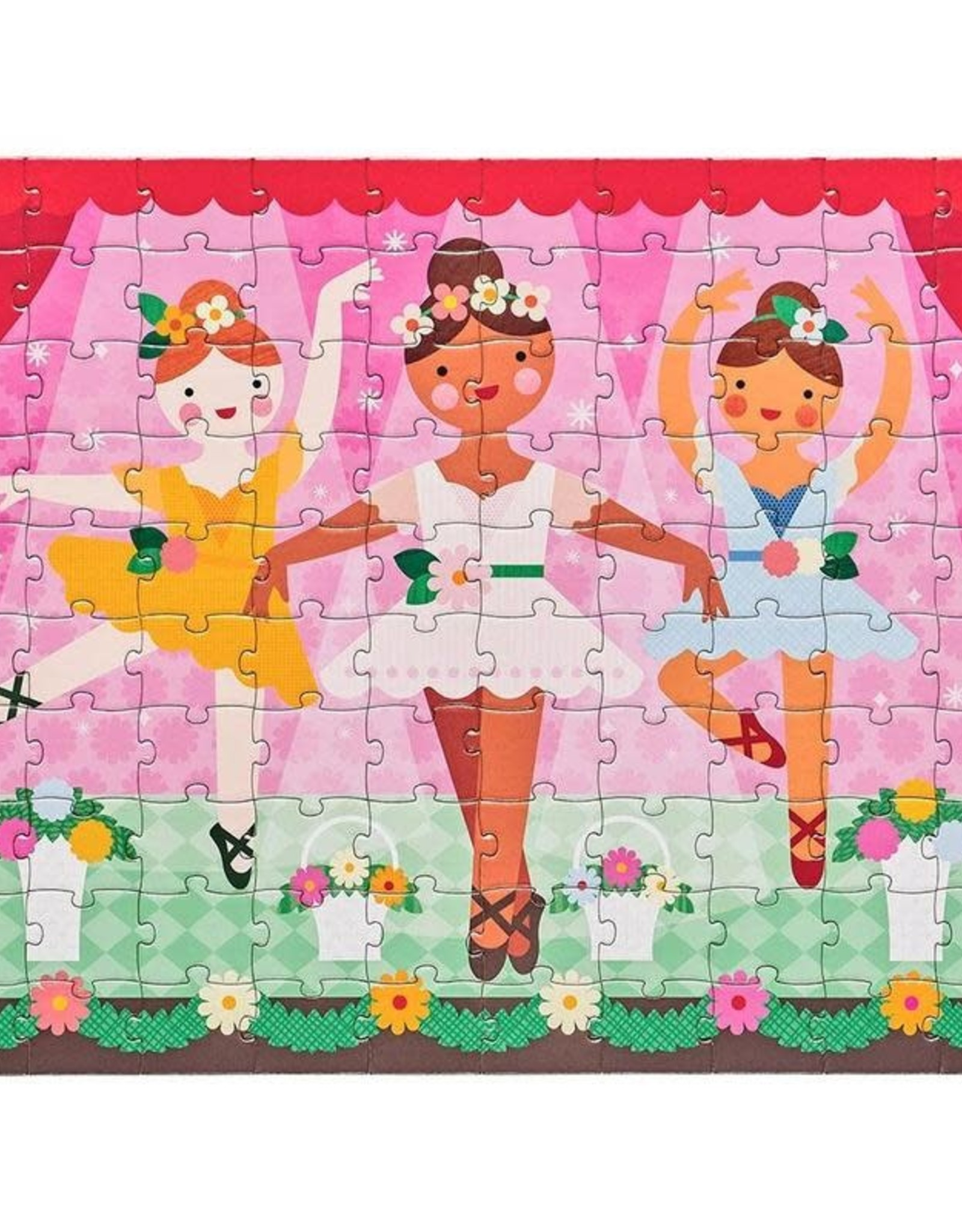 Petit Collage Double Sided Ballerina Puzzle