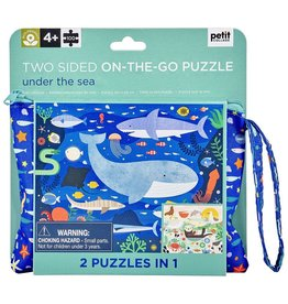 Wild & Wolf Petit Collage Double Sided Under the Sea Puzzle