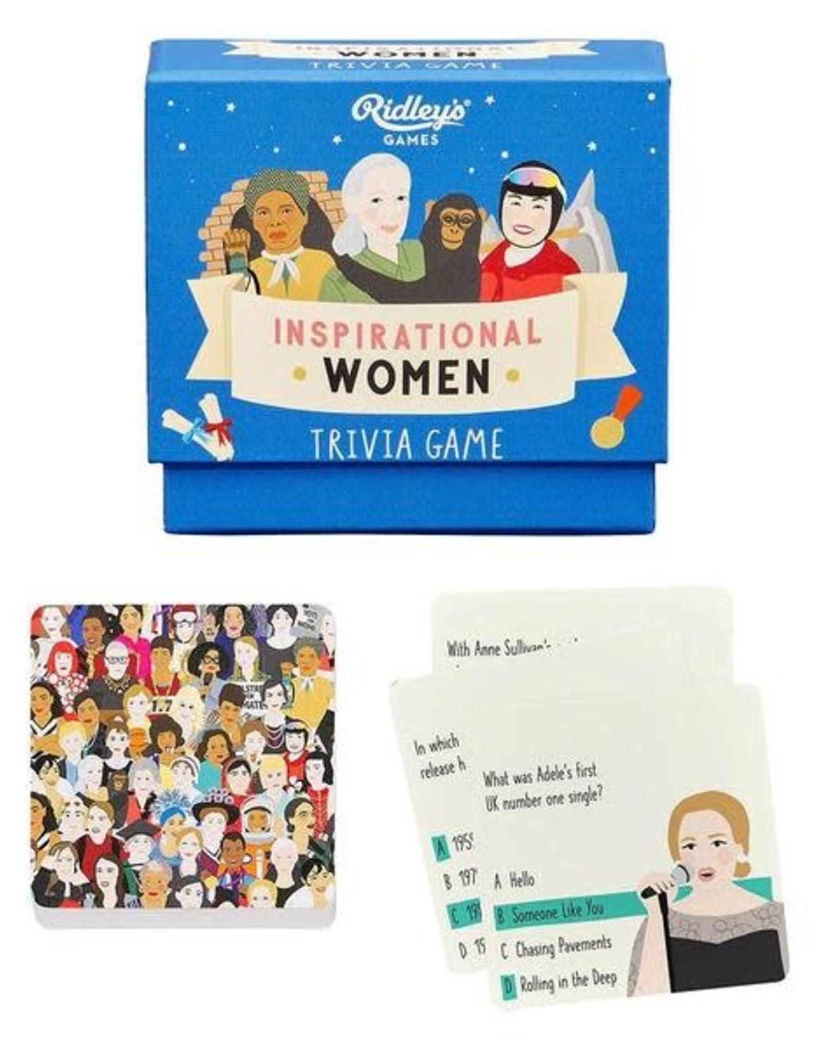 Wild & Wolf Ridley's Inspirational Women Trivia
