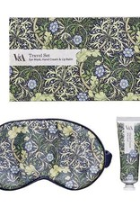 Wild & Wolf V & A Travel Set, Seaweed Print