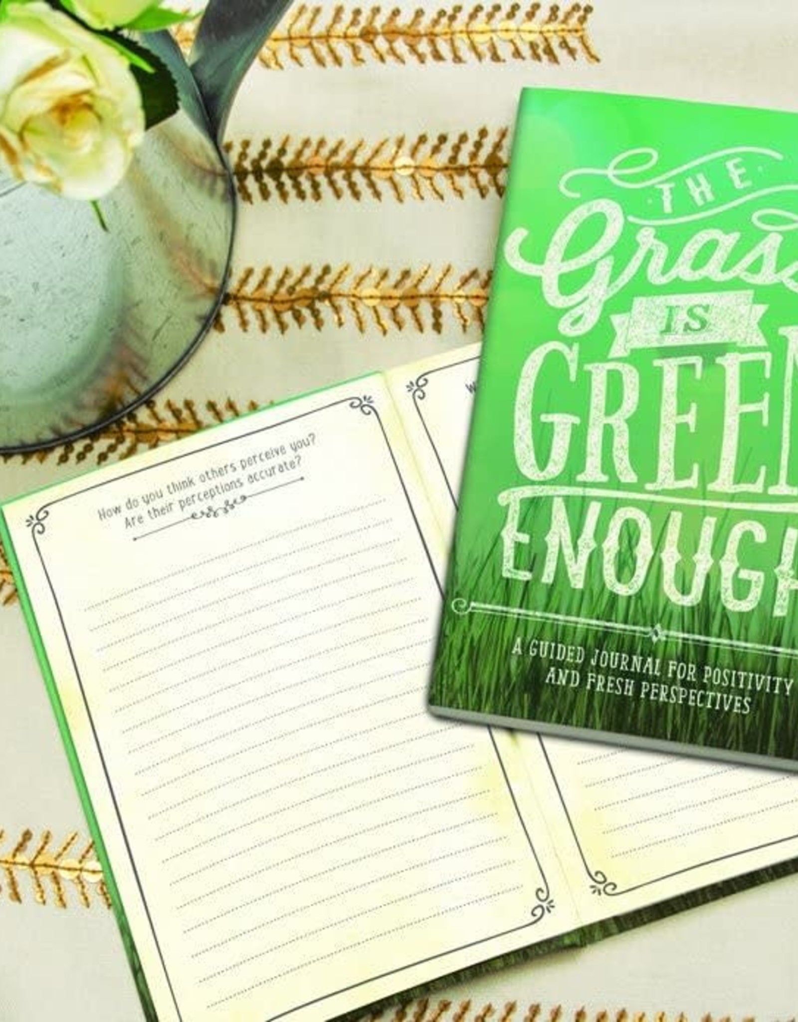 Studio Oh! Studio Oh! Guided Journal The Grass is Green Enough