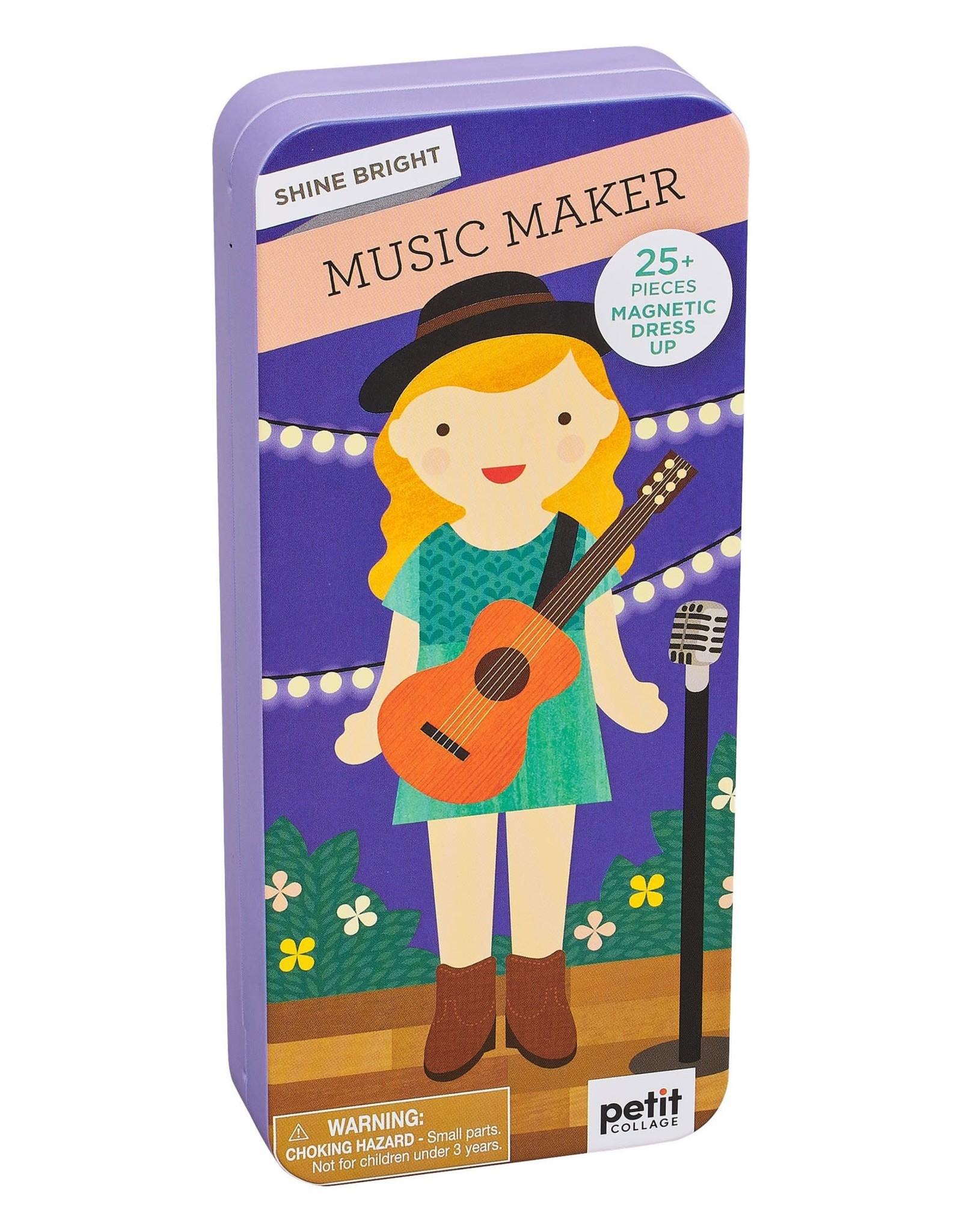 Petit Collage Shine Bright Music Maker