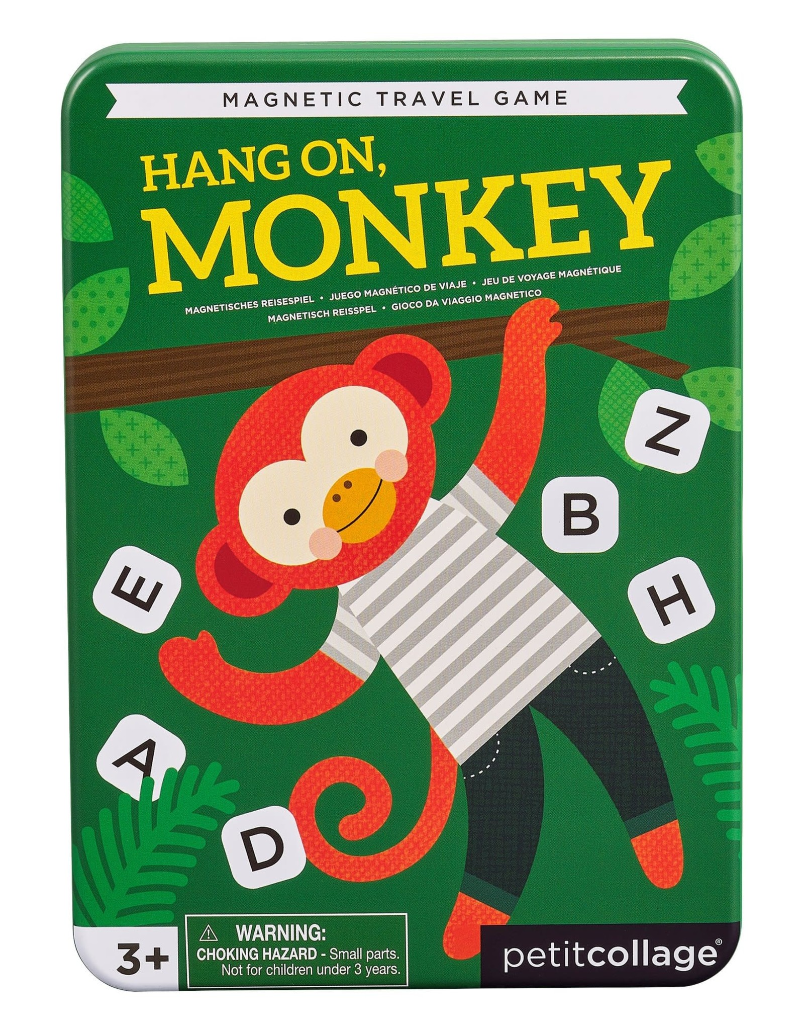 Petit Collage Magnetic Travel Game Hang On Monkey