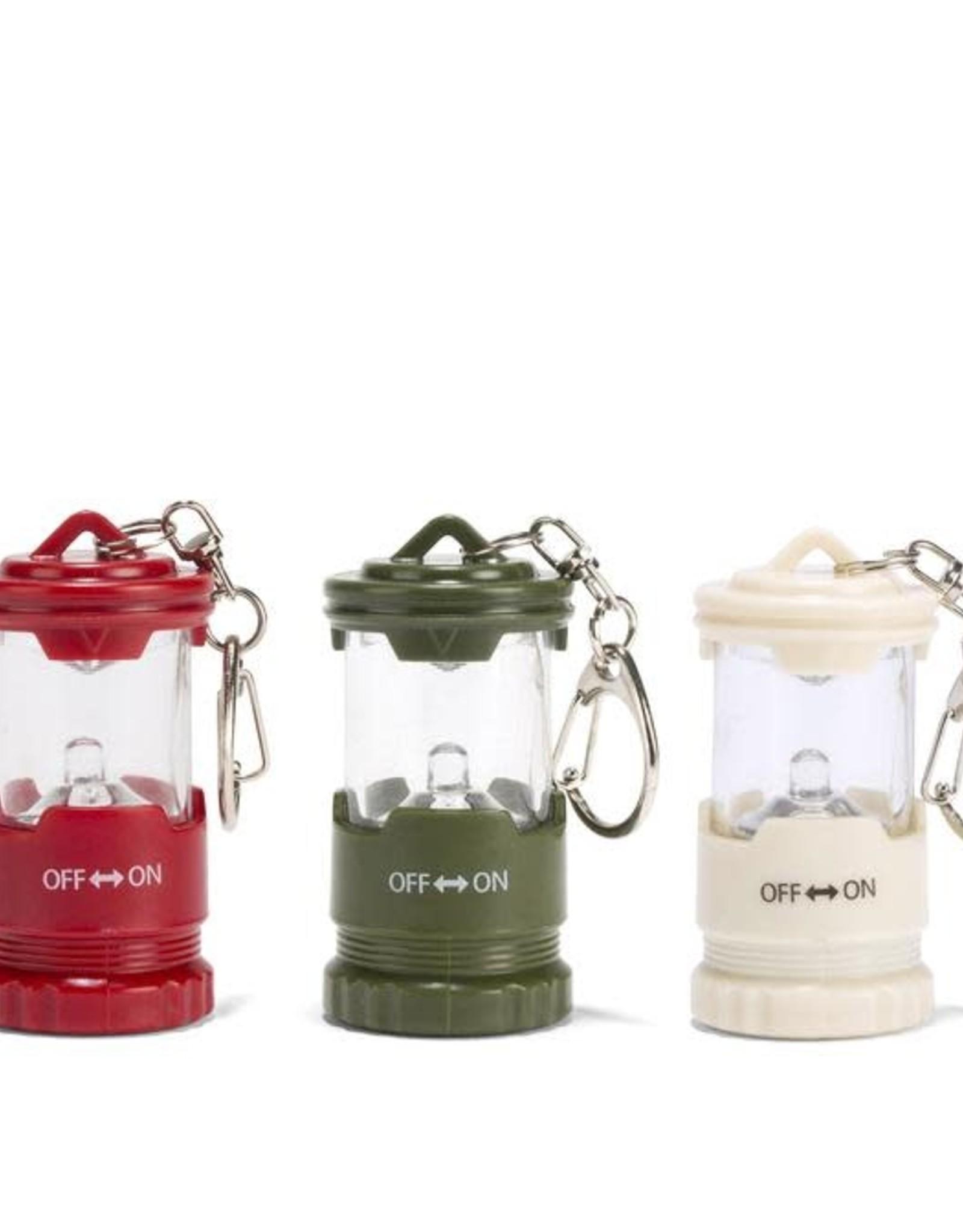 Kikkerland Mini Lantern Keychain