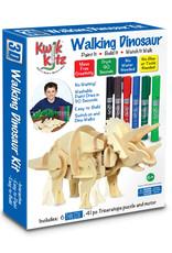 The Pencil Grip Kwik Kitz Walking Dinosaur  Kit with 6 Thin Stix