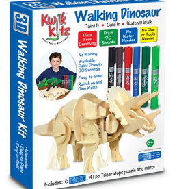 The Pencil Grip Kwik Kitz Walking Dinosaur  Kit with 6 Thin Stix