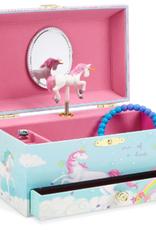 Jewelkeeper Musical Jewelry Box Unicorn (single drawer)