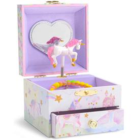 Jewelkeeper Musical Jewelry Box Party Unicorn 1