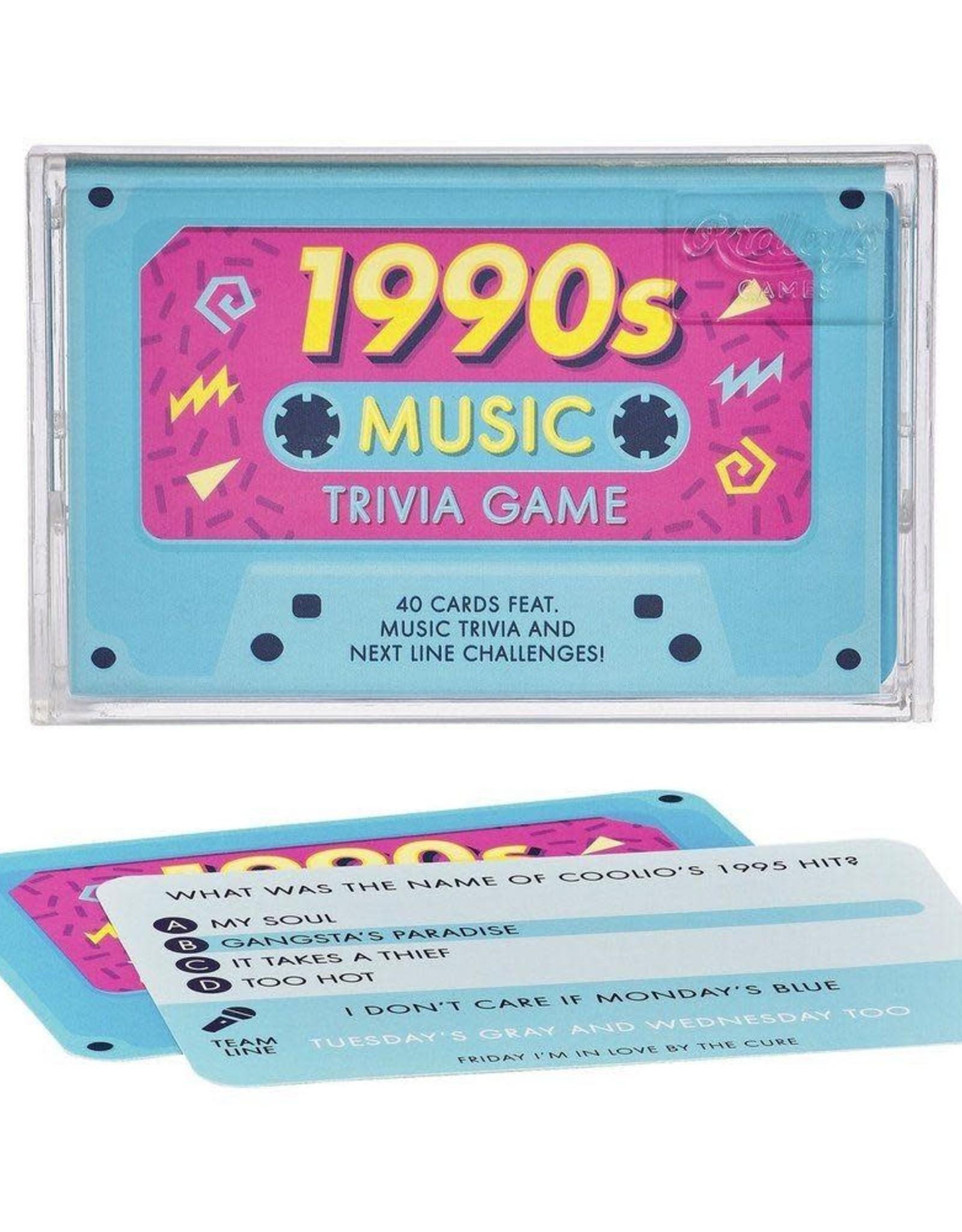 Wild & Wolf Music Trivia Game, 1990s