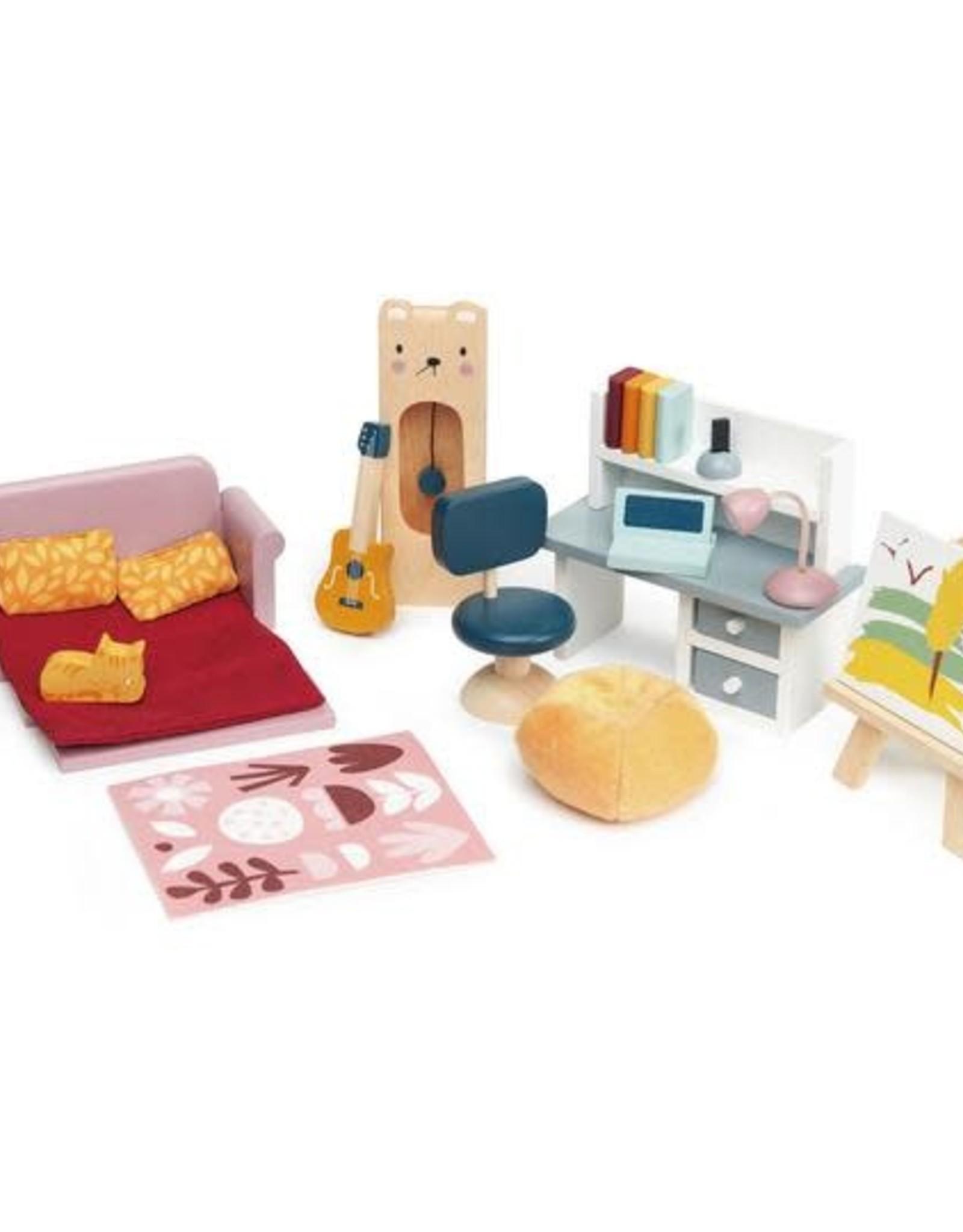 Tender Leaf Toys Dolls House Study Furniture