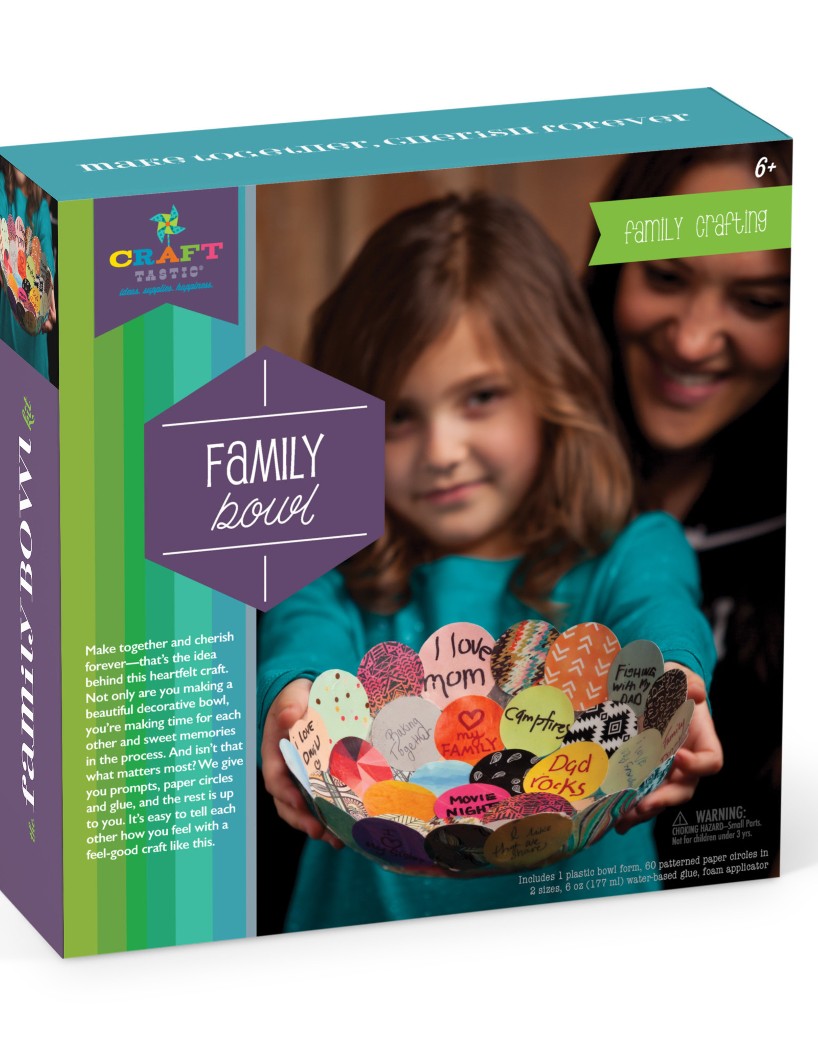 Ann Williams Ann Williams Craft-tastic Make Together Family Bowl
